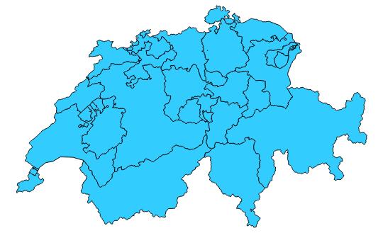 HTML Imagemap Kantonale Geoportale